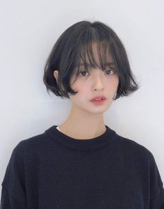 something special ♡ Short Hair Tomboy, Girl Short Hair, Short Hair Cuts, Tomboy Hairstyles, Pretty Hairstyles, Korean Hairstyles, Shot Hair Styles, Curly Hair Styles, Hair Inspo