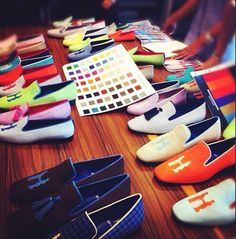 Neiman Marcus collection. Slippers is my favorite shoe trend now.