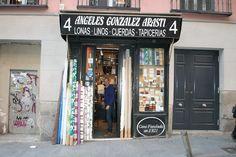 Sucesores de Ángeles González Arasti, lonas y linos (1921). Calle Imperial, 4. Barrio de Sol