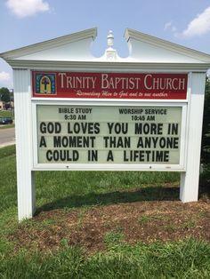 Trinity Baptist Church Christiansburg, Va Church sign Marquee