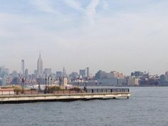 2014 Trip Tally for 48 Hours in NYC & Jersey City - Skyline view of NYC from Jersey City.