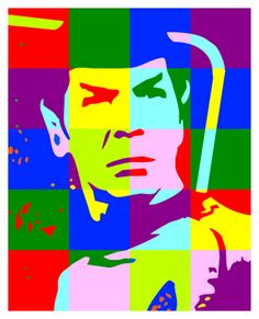 Pop Art Spock