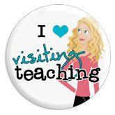 this blog has great ideas for encouraging visiting teaching at our upcoming Relief Society Activity