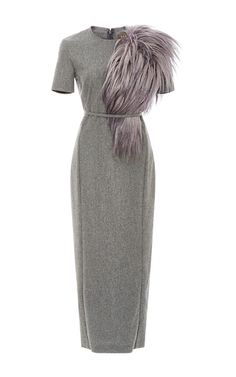 Fitted Pencil Dress by HENSELY for Preorder on Moda Operandi