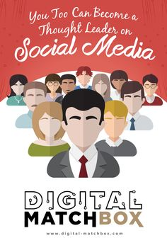 Your social media strategy just might be the key to establishing yourself as a thought leader in your field — and here's why. http://digital-matchbox.com/you-too-can-become-a-thought-leader-on-social-media/#utm_sguid=147501,ca1bf0b9-e6b1-f230-7da0-a57f3ddc6f78