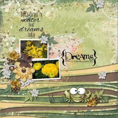 I love this month's Pickle Barrel colour palette! This layout is done with Fayette Designs 6-Pack plus FWP called Plant Your Dreams. It is a beautiful collection of papers with a fun selection of elements and other goodies.  Plant Your Dreams Add-On Bundle http://www.pickleberrypop.com/shop/product.php?productid=50013 Plant Your Dreams 6-Pack http://www.pickleberrypop.com/shop/product.php?productid=50012 The template is from Strip it #3 by Heartstrings Scrap Art…