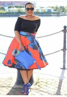 Today BN Style Your Curves will be spotlighting style blogger MaNgu of Original Mangu. She is a Zimbabwean mom living in Great Britain.