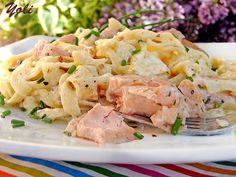 Прясна паста със сьомга Fresco, Salmon Pasta, Fresh Pasta, Potato Salad, Seafood, Potatoes, Ethnic Recipes, Serbian, Recipes