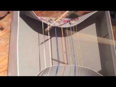 Instrumente Bauen - Gummi-Harfe (Musikinstrumente selber bauen aus einfachen Materialien) - YouTube