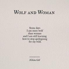 Nikita Gill poetry on Instagram