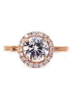 *Choose from a selection of conflict free round diamonds—0.50 carat, 0.70 carat, or 1 carat(GIA...