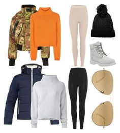 """""""Weekend ski trip lunch ❄️🏂🗻"""" by boturovic-kristina on Polyvore featuring Timberland, Dsquared2, Fendi, Acne Studios, Le Kasha, adidas Originals, Polo Ralph Lauren and Ray-Ban"""