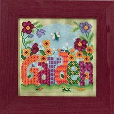 Mill Hill Buttons & Beads Spring Series Garden by DebiCreations