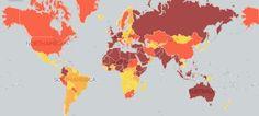 Ανάμεσα στις χώρες που κινδυνεύουν με τρομοκρατική επίθεση βρίσκεται και η Κύπρος (χάρτης)