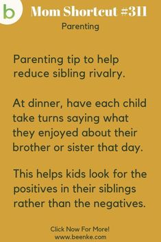 Practical Parenting Tips For Busy Moms! – Beenke Parenting Tips – A dinner time ritual to help reduce sibling rivalry. Positive parenting tips and advice for boys and girls, from newborn to toddlers and up. CLICK NOW to discover more Parenting Hacks. Practical Parenting, Parenting Advice, Kids And Parenting, Attachment Parenting Quotes, Parenting Done Right, Parenting Styles, Foster Parenting, Sibling Rivalry, Mentally Strong