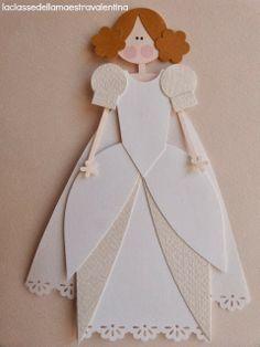 punch art   girl in princess dress