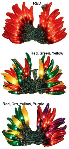 Chili Pepper Lights For The Deck