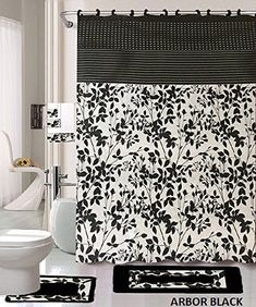 Chaoranhome Pattern Bath Mat Set3 Piece Bathroom Matsseamless Classy Black And White Bathroom Rugs Review