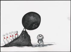 Untitled (The World of Stainboy) (2000) by Tim Burton~