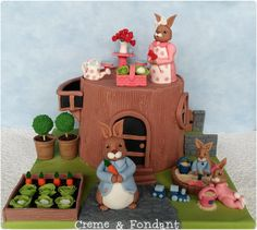 Easter  family by Creme & Fondant