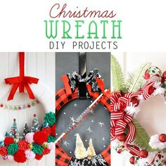 Christmas Wreath DIY Projects - The Cottage Market - See more amazing DIY Chrsitmas Wreath ideas at DIYChristmasDecorations.net!