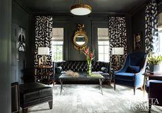 atlanta homes + lifestyles  drapes