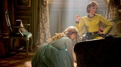 LR Cinderella Lily James and Lady Tremaine Cate Blanchett in Cinderella by Walt Disney Pictures Inc. Courtesy of Walt Disney Pictures Inc  2015 DisneyPixar All rights reserved
