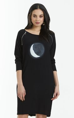 OBI - moonlit zip dress
