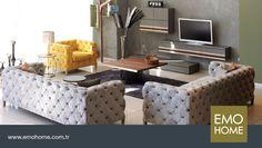 Modern ve klasiğin sıra dışı sentezi Anna oturma grubu ile bir arada!  #emohome #tasarım #kalite #modern #şık #home #homedesing #design #modernfurniture #decoration