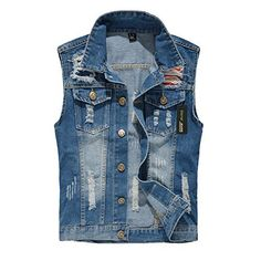 "Denim Vest   	 		 			 				 					Famous Words of Inspiration...""Thus far, the reputed idiot Bush has graduated from Yale and Harvard, made a stack of cash in the oil industry, become the first consecutive-term governor of Texas, defeated a dual-term VP for the presidency, and led his party...  More details at https://jackets-lovers.bestselleroutlets.com/ladies-coats-jackets-vests/denim-jackets/product-review-for-eternal-women-casual-cotton-sleeveless-jeans-denim-vest-j"