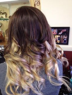 My ombre hair! Love ombre!! ❤