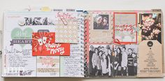 december memory planner ~ heidi swapp