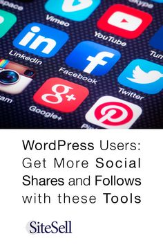 Use these tools on your WordPress site to improve your social shares and followers.