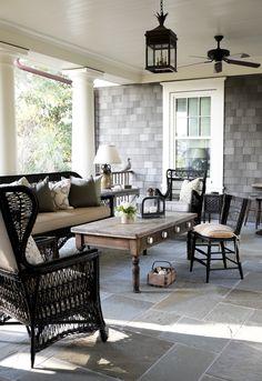 Five Pretty Porches | Traditional Home