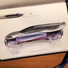"602 Likes, 7 Comments - JohannKim (@johann_sketching) on Instagram: ""Weekend doodle_Renault . . . #cardesign #carsketch #cardrawing #exterior #design #designer #drawing…"""