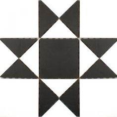 Black & White Panel Tiles from Walls and Floors