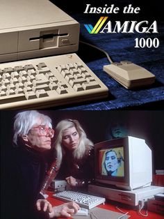 Tuesday, July 23, 1985 – Commodore launches the Amiga personal computer at Lincoln Center in New York. Andy Warhol created a portrait of Debbie Harry during the demonstration. Amiga made waves in the press with its high-resolution color graphics and stereo sound.