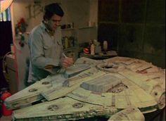 Vintage Behind-the-Scenes Star Wars