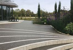 Clearstone has extensive experience providing quality work and can install a bespoke resin bound driveway and pathway that will leave you satisfied. Resin Bound Driveways, Driveway Design, Pathways, Sidewalk, Gallery, Garden, Paths, Lawn And Garden, Sidewalks
