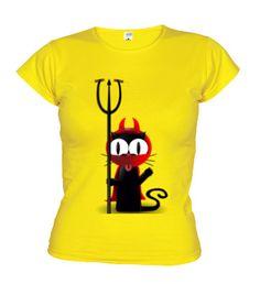 """Samarreta """"Mixu Diable"""" en diversos colors per $19,90€ a http://www.latostadora.com/mixu/dibujos/170027"""