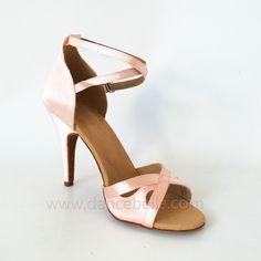 Pink Ballroom Dance Shoes