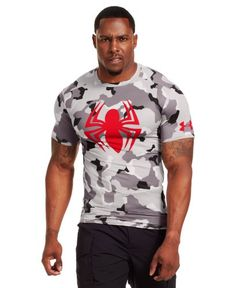 Under Armour Men's Under Armour® Short Sleeve Compression Shirt Medium GRAY AREA Under Armour http://www.amazon.com/dp/B00DZ0I4U0/ref=cm_sw_r_pi_dp_k2znub0H7HSAJ