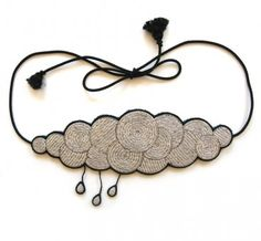 incredible embroidered cloud belt...