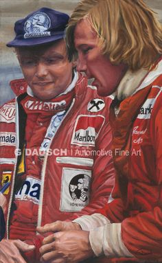 Lauda & Hunt the fastest friends in their field but enemies on the track.