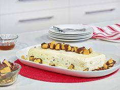 Honey Macadamia Ice Cream Terrine