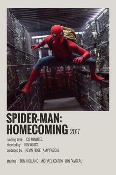 Alternative Minimalist Movie/Show Polaroid Poster – Spiderman Homecoming - Top-Trends Poster Marvel, Marvel Movie Posters, Avengers Poster, Iconic Movie Posters, Minimal Movie Posters, Spiderman Poster, Spiderman Movie, Film Polaroid, Films Marvel