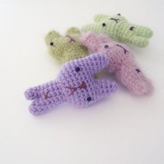 My Tiny Bunny - free pattern - download from www.irenestrange.co.uk #crochet #pattern #free