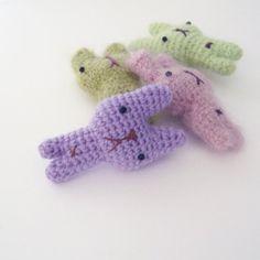 My Tiny Bunny - free pattern - download from www.irenestrange.co.uk #crochet #pattern #free