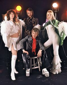 ABBA in France.