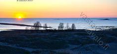 Auringonlasku Kalajoen Hiekkasärkillä  - ilta auringonlasku ranta hiekkaranta…